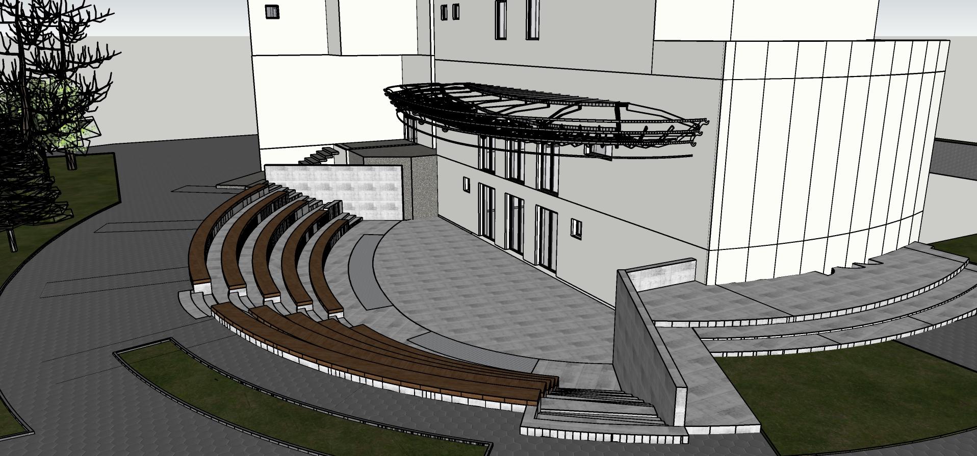 Teatrul Masca - Amfiteatrul Lacătelor de dragoste